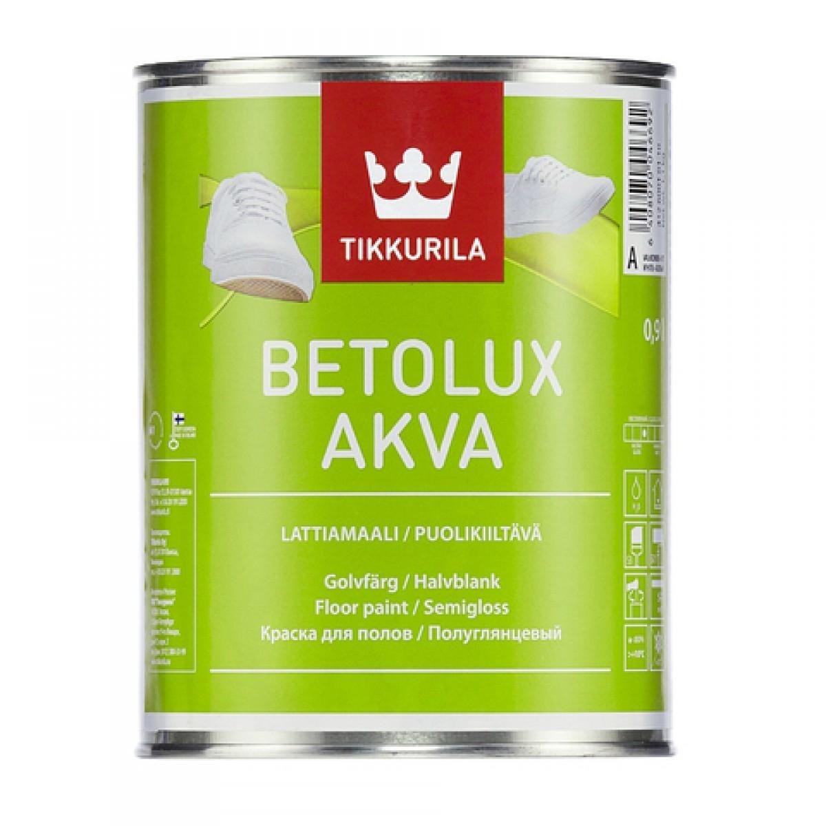 Бетолюкс Аква - водоразбавляемая краска для пола