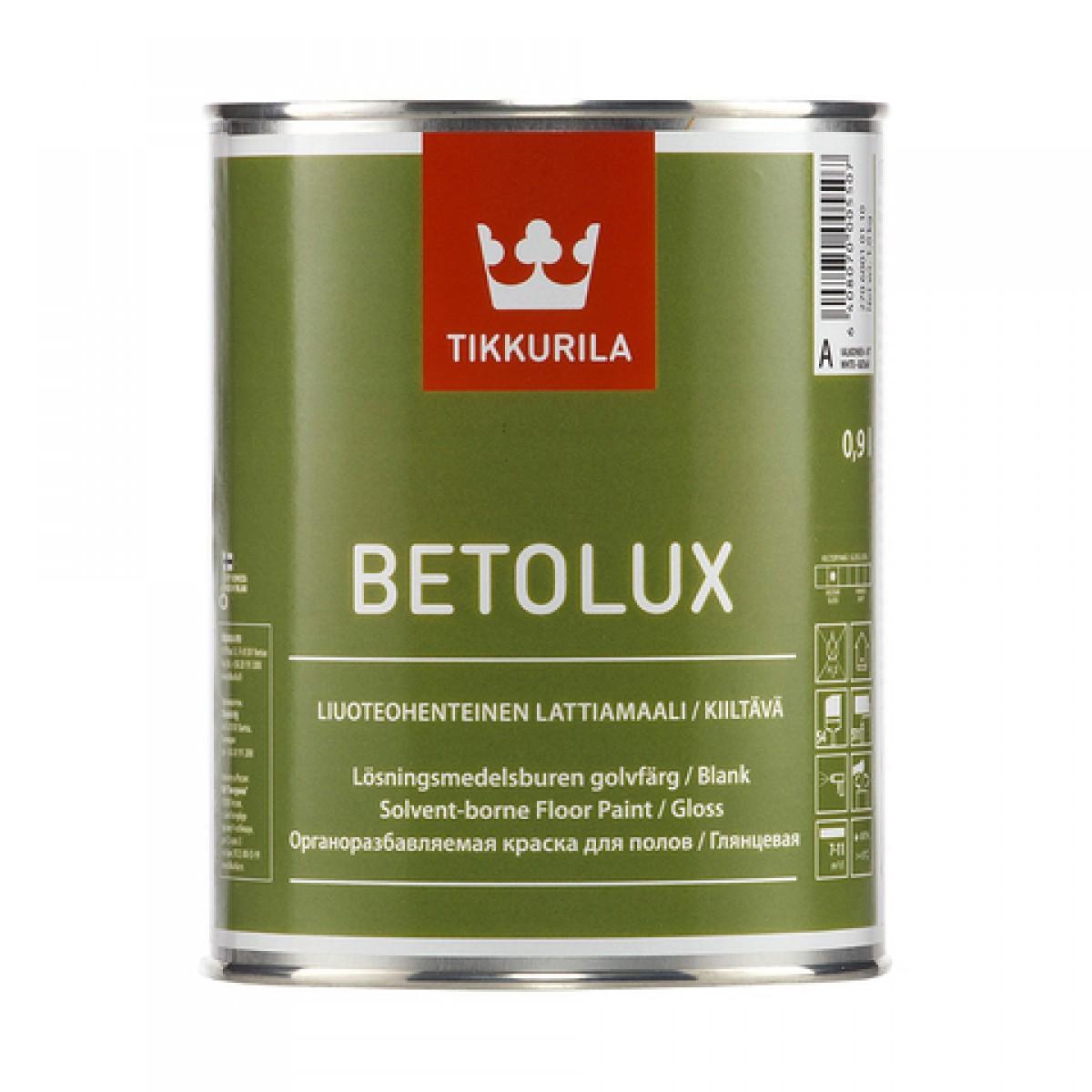 Бетолюкс – глянцевая краска для деревянных и бетонных полов