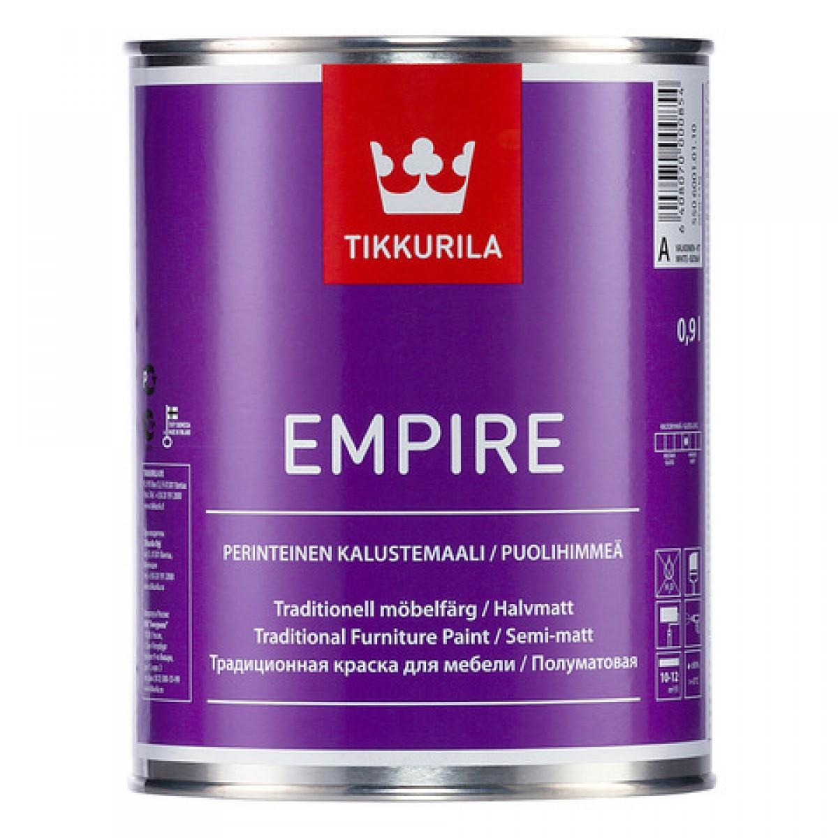 Эмпире – алкидная краска для мебели