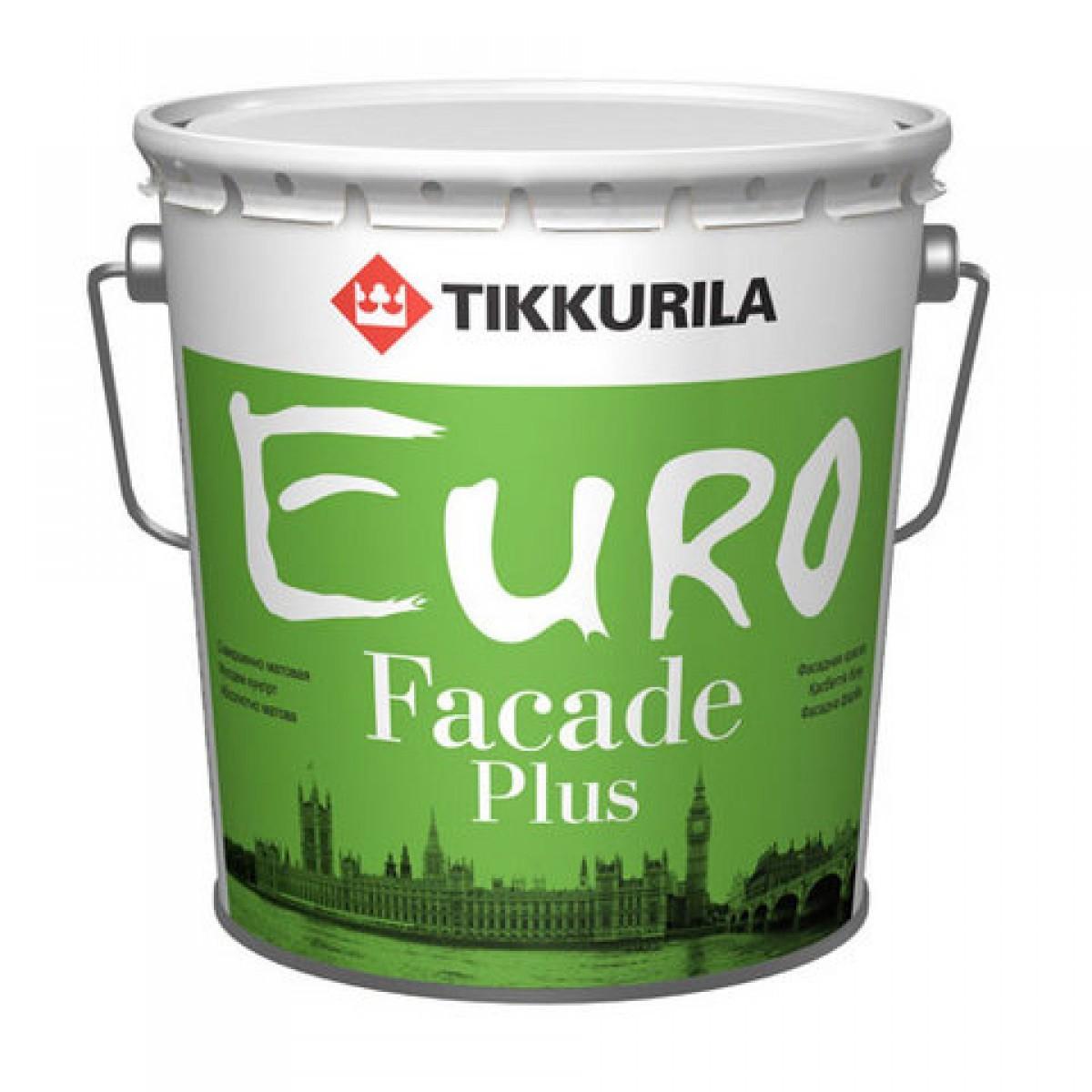 Euro Faсade Plus – акриловая фасадная краска с силиконом