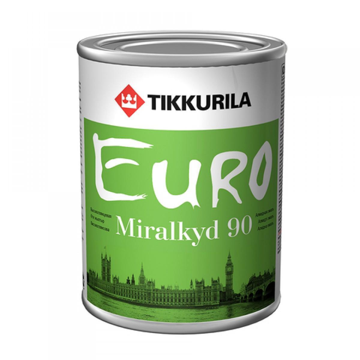 Евро Миралкид 90 – универсальная алкидная эмаль
