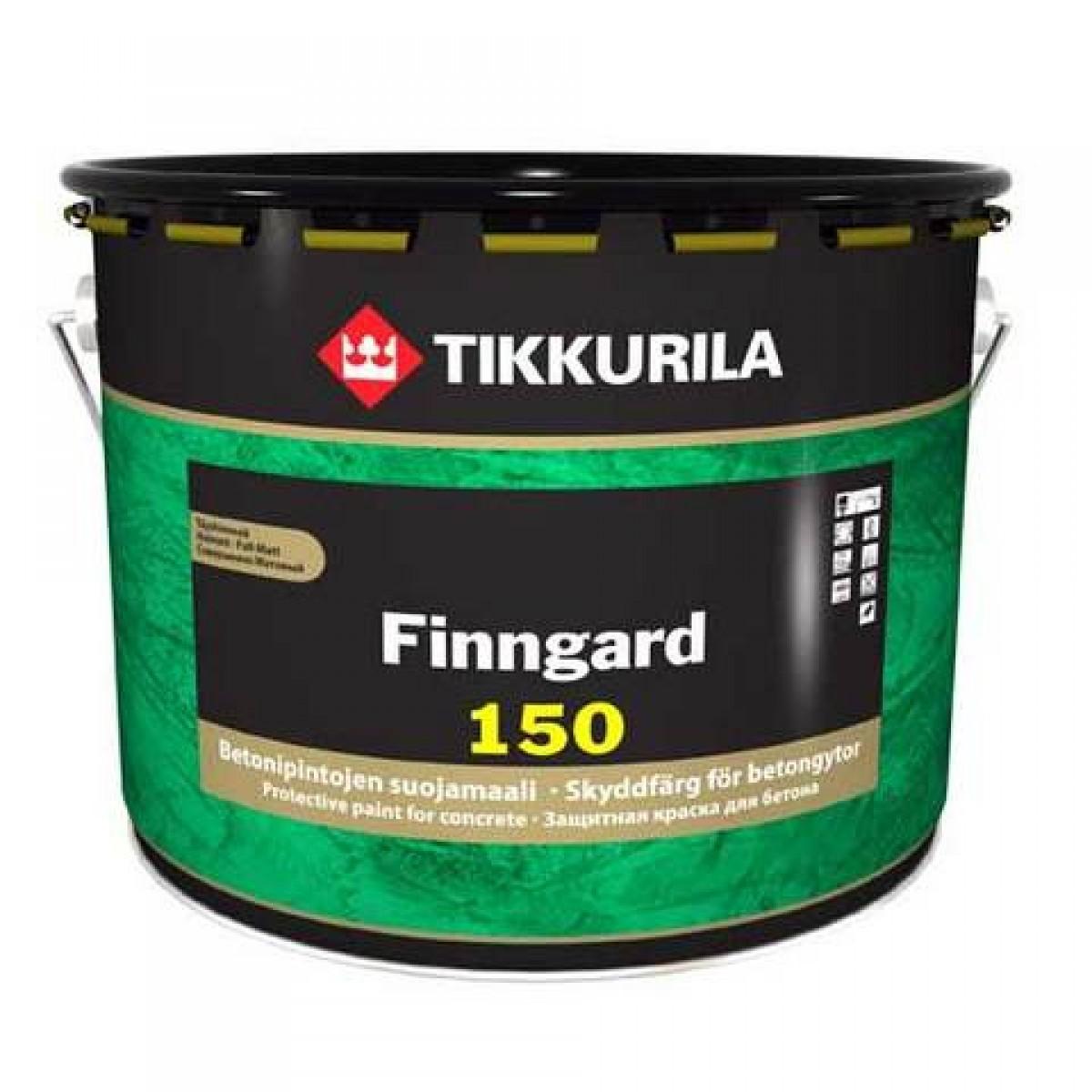 Финнгард – защитная краска для бетонных конструкций