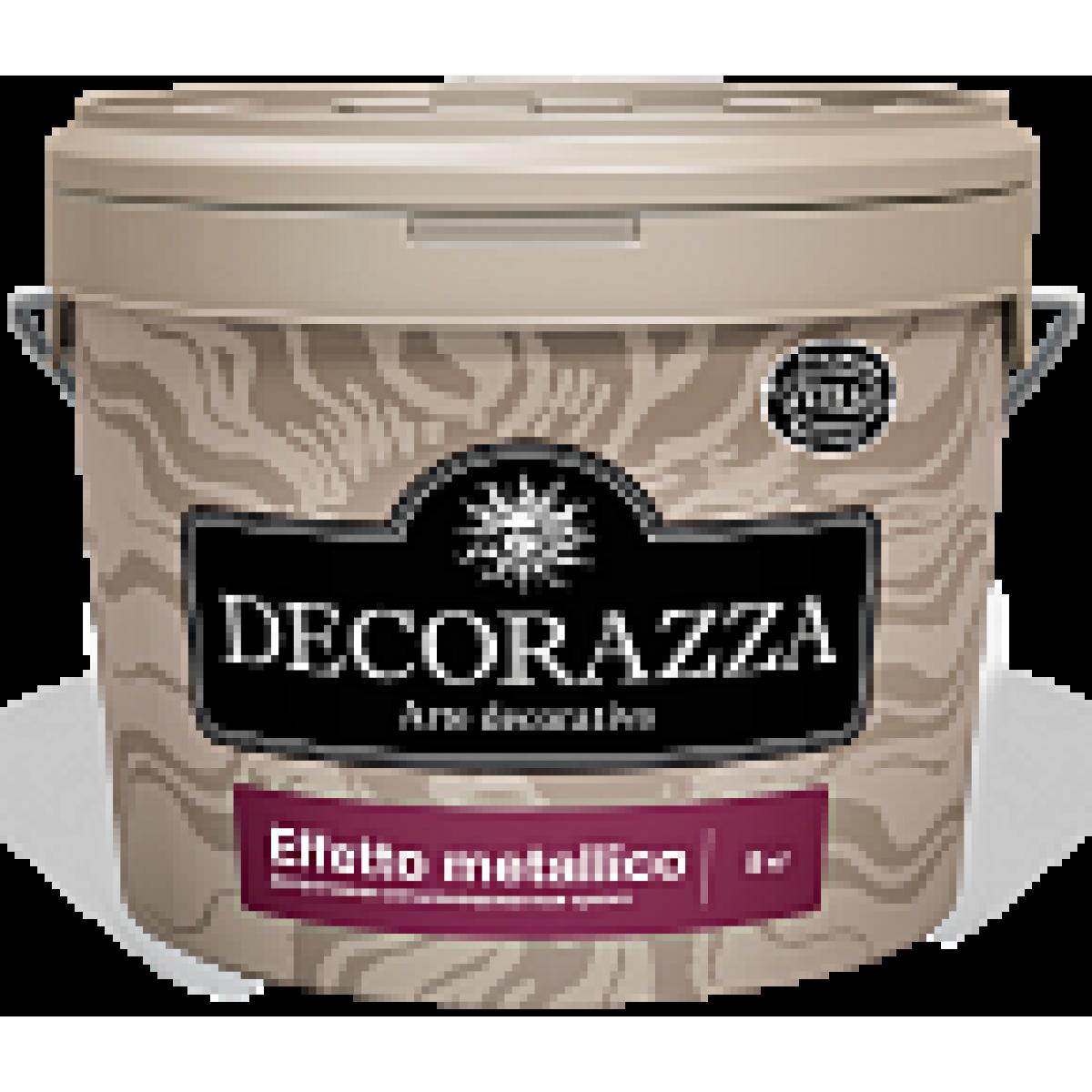 Decorazza Effetto metallico - Декоративная металлизированная краска