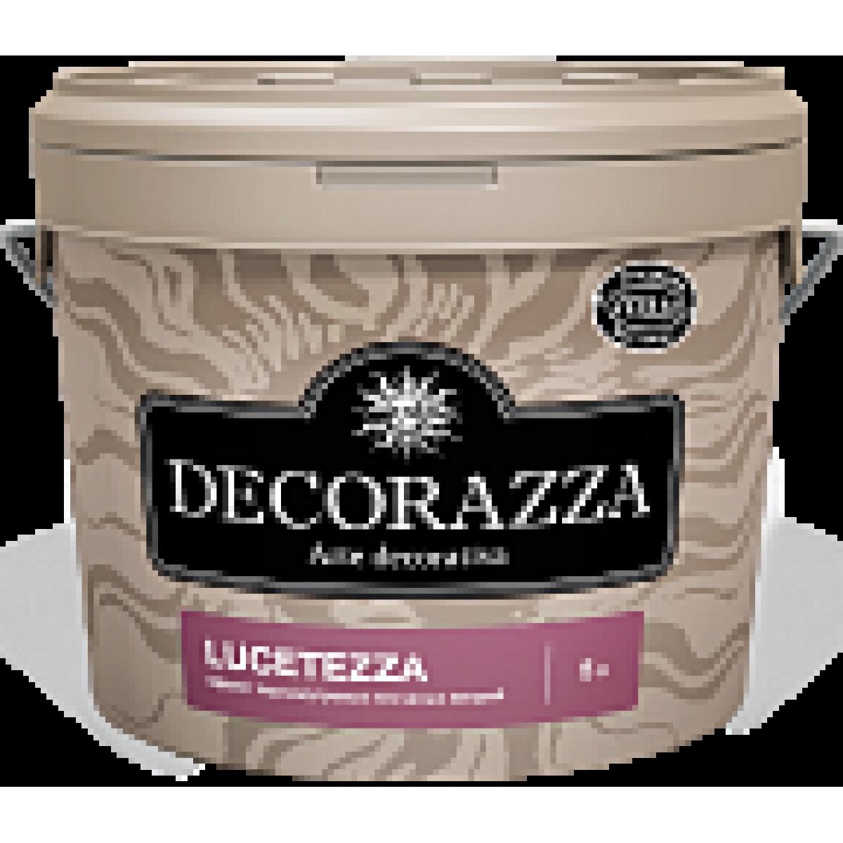 Decorazza Lucetezza - Эффект перламутровых песчаных вихрей