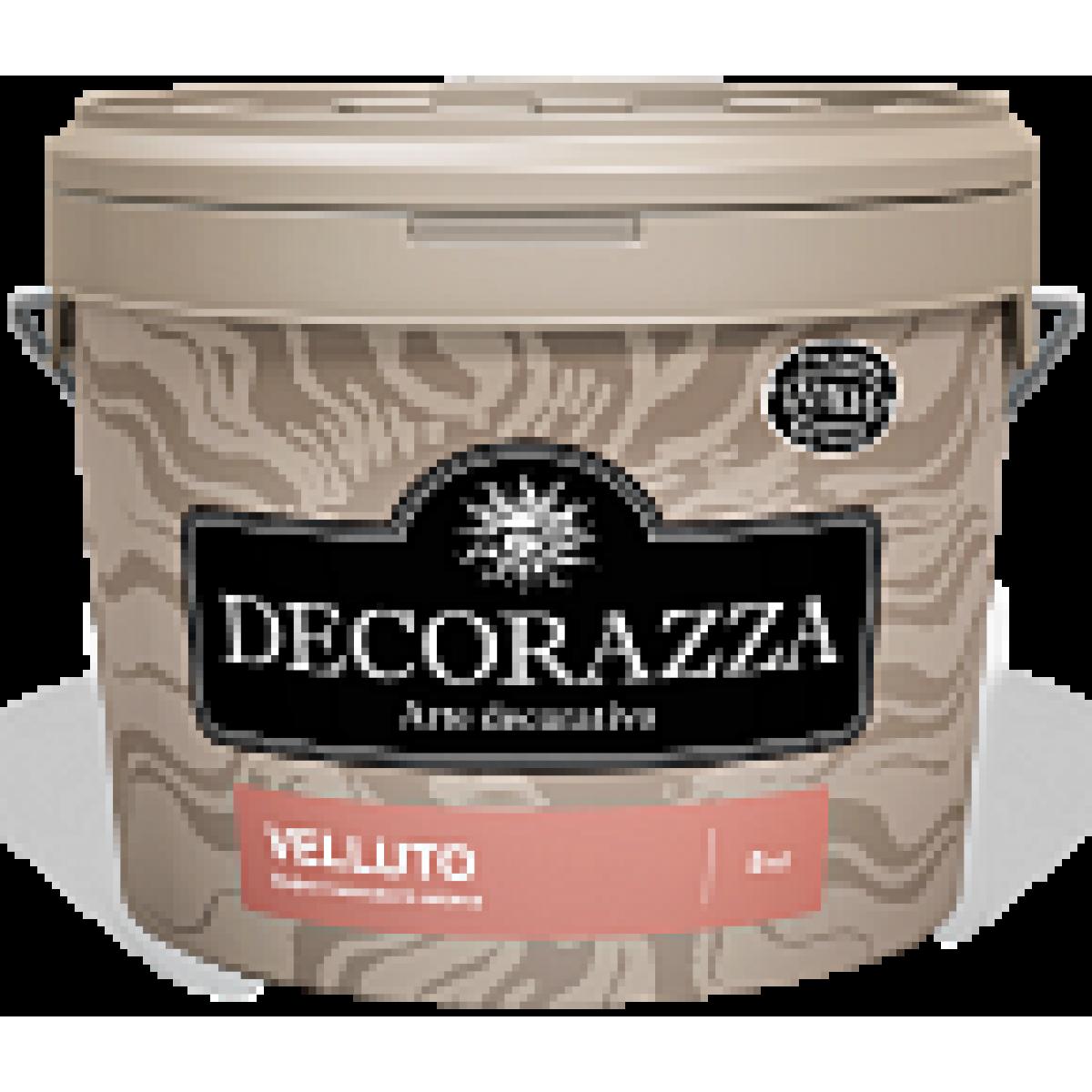 Decorazza Velluto - Эффект матового шёлка