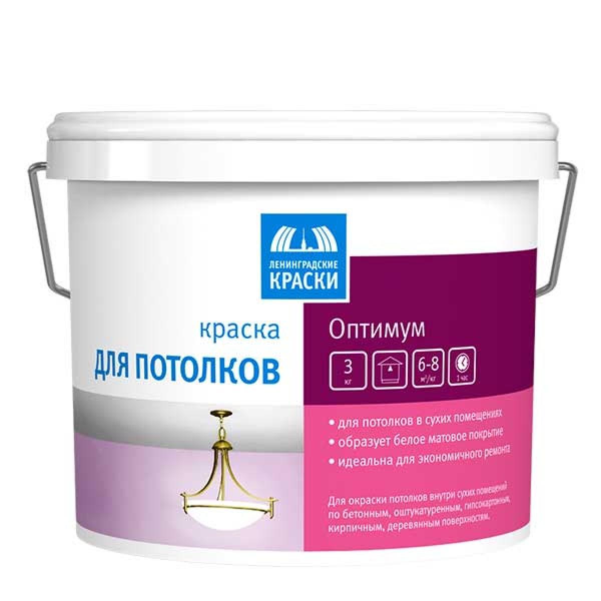 Краска для стен и потолков «Оптимум»