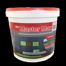 Master Max - интерьерная водоэмульсионная акриловая краска