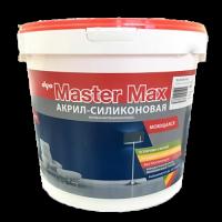 Master max - интерьерная водоэмульсионная акрил силиконовая краска