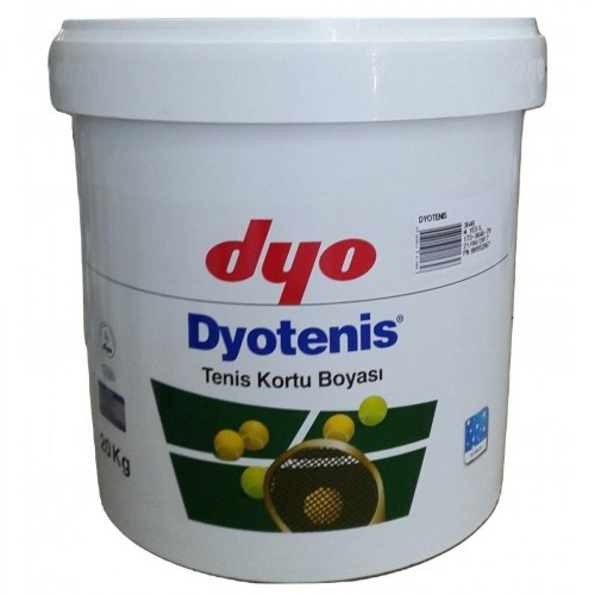 DYOTENIS - краска для теннисных кортов