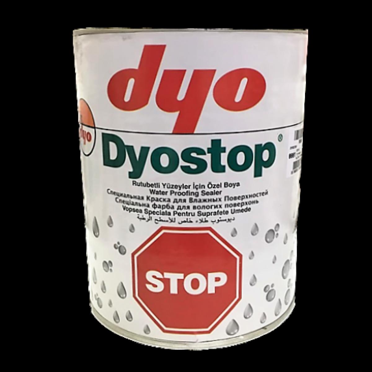 Dyostop - краска для влажных поверхностей