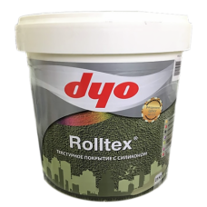 Rolltex - фасадная водоэмульсионная премиальная акриловая текстурная фасадная краска