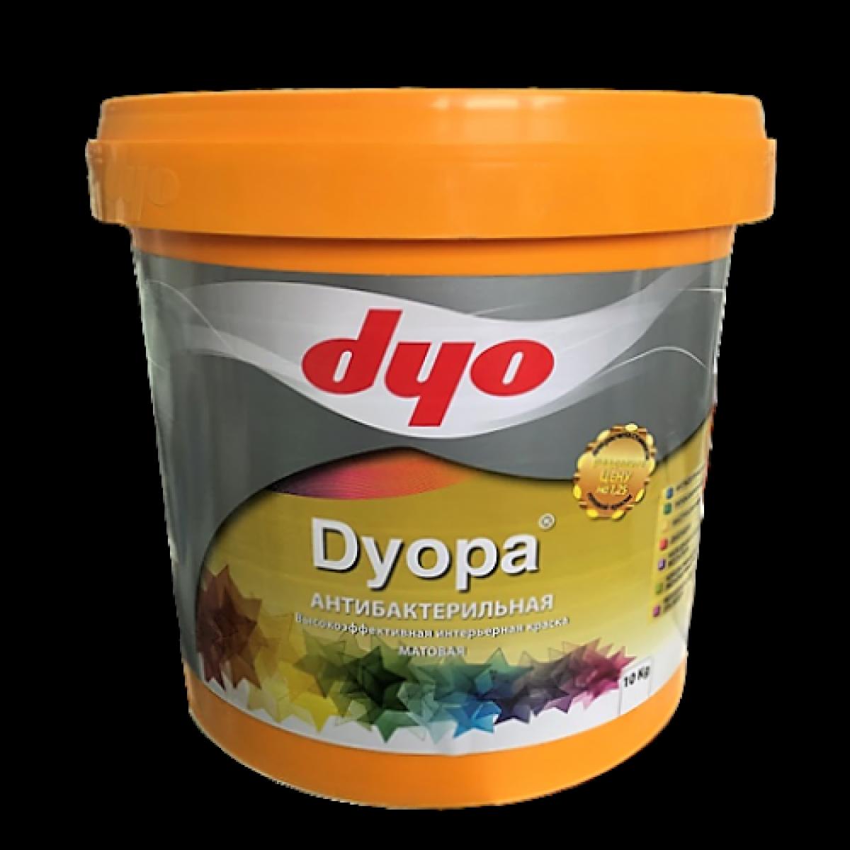 Dyopa - Интерьерная водоэмульсионная латексная краска