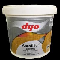 Acrofiller - стойкая быстросохнущая фасадная шпатлевка