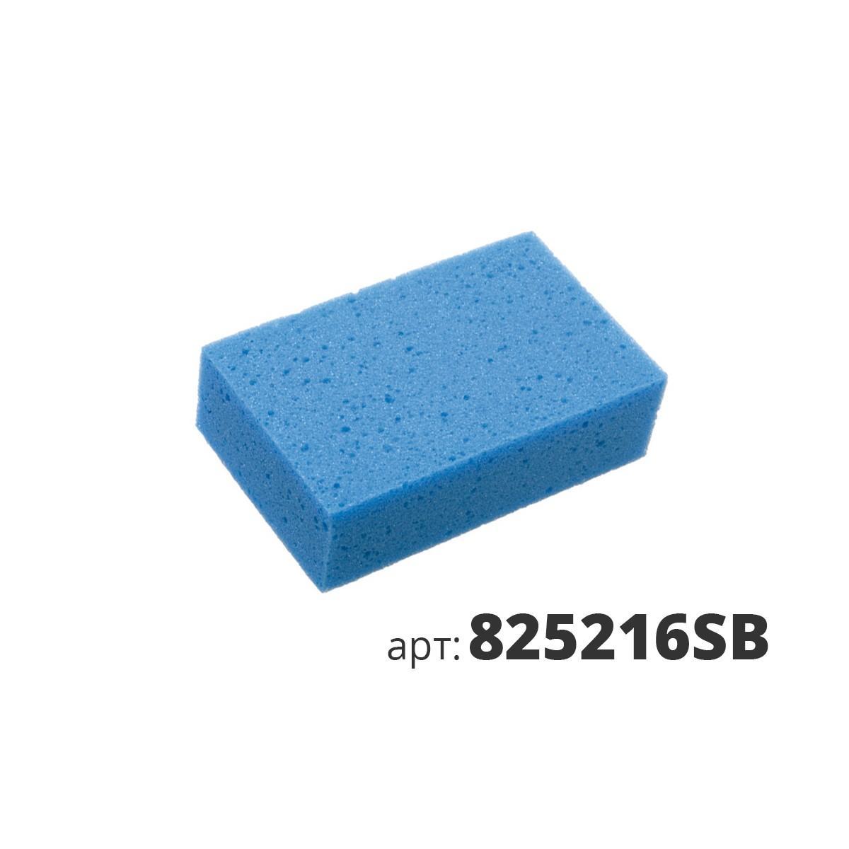 МАКО губка - синяя, мелкопористая губка, полиэстер 825216SB