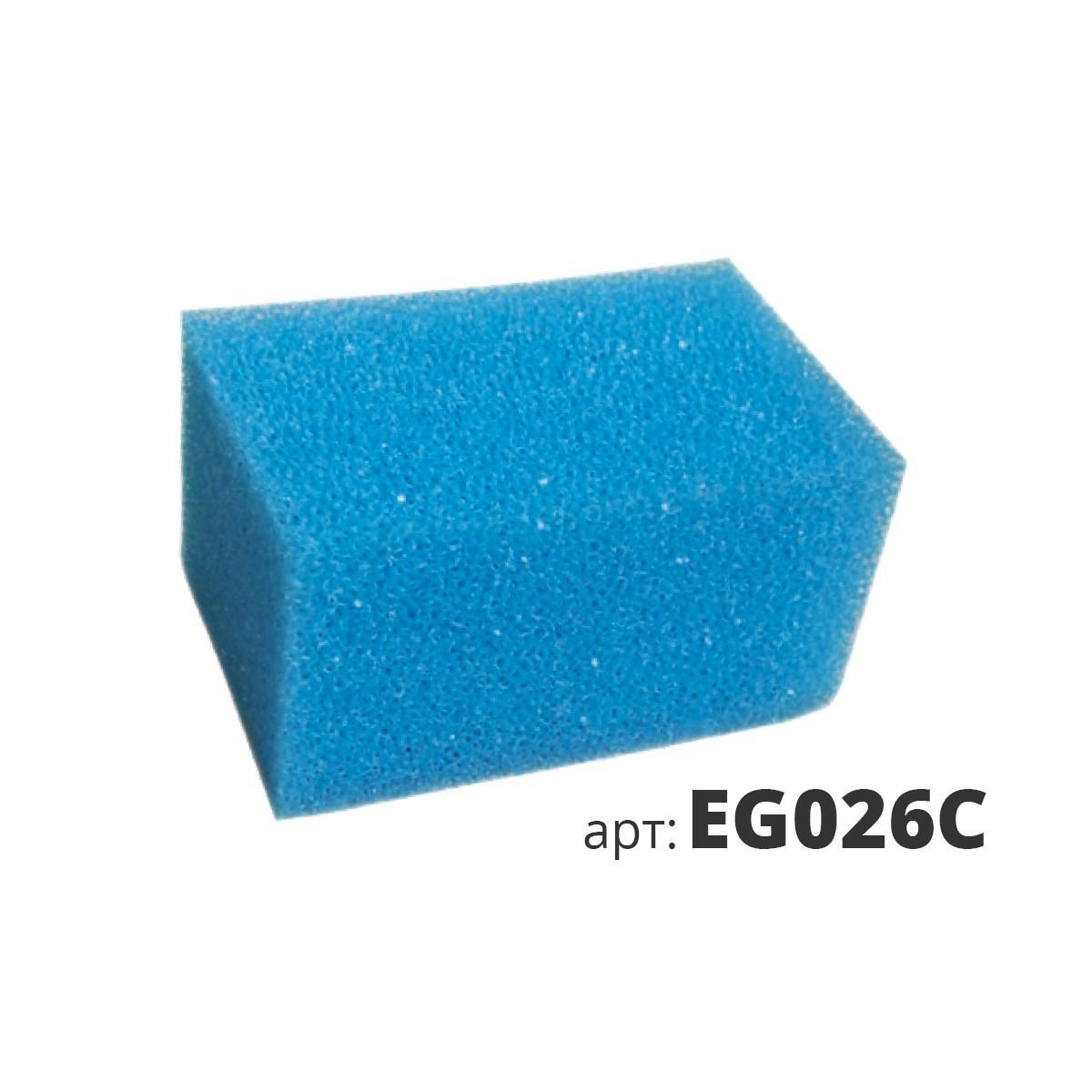 Поролоновая губка средней текстуры, жесткая EG026C