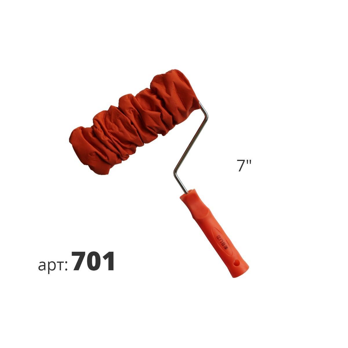 Декоративный кожаный валик 701