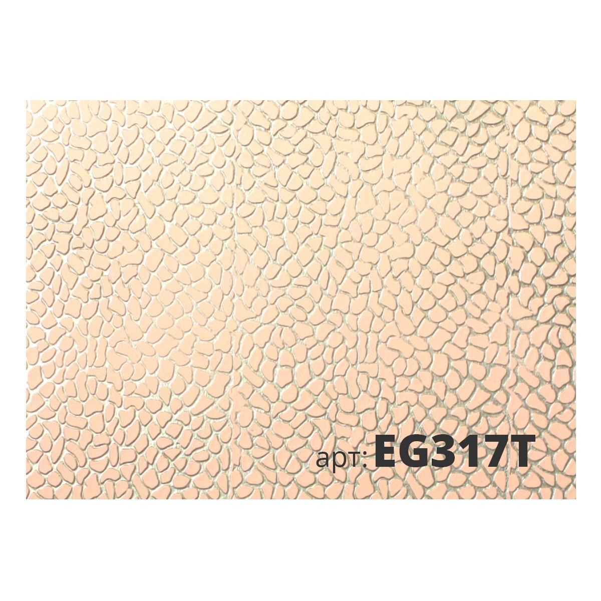 Декоративный жесткий резиновый валик КОЖА EG317T