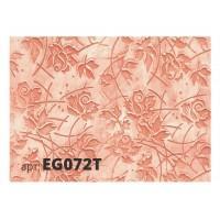 Декоративный жесткий резиновый валик РОЗЫ EG072T