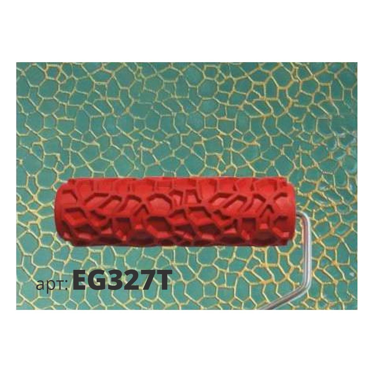 Декоративный жесткий резиновый валик ШАГРЕНЬ EG327T