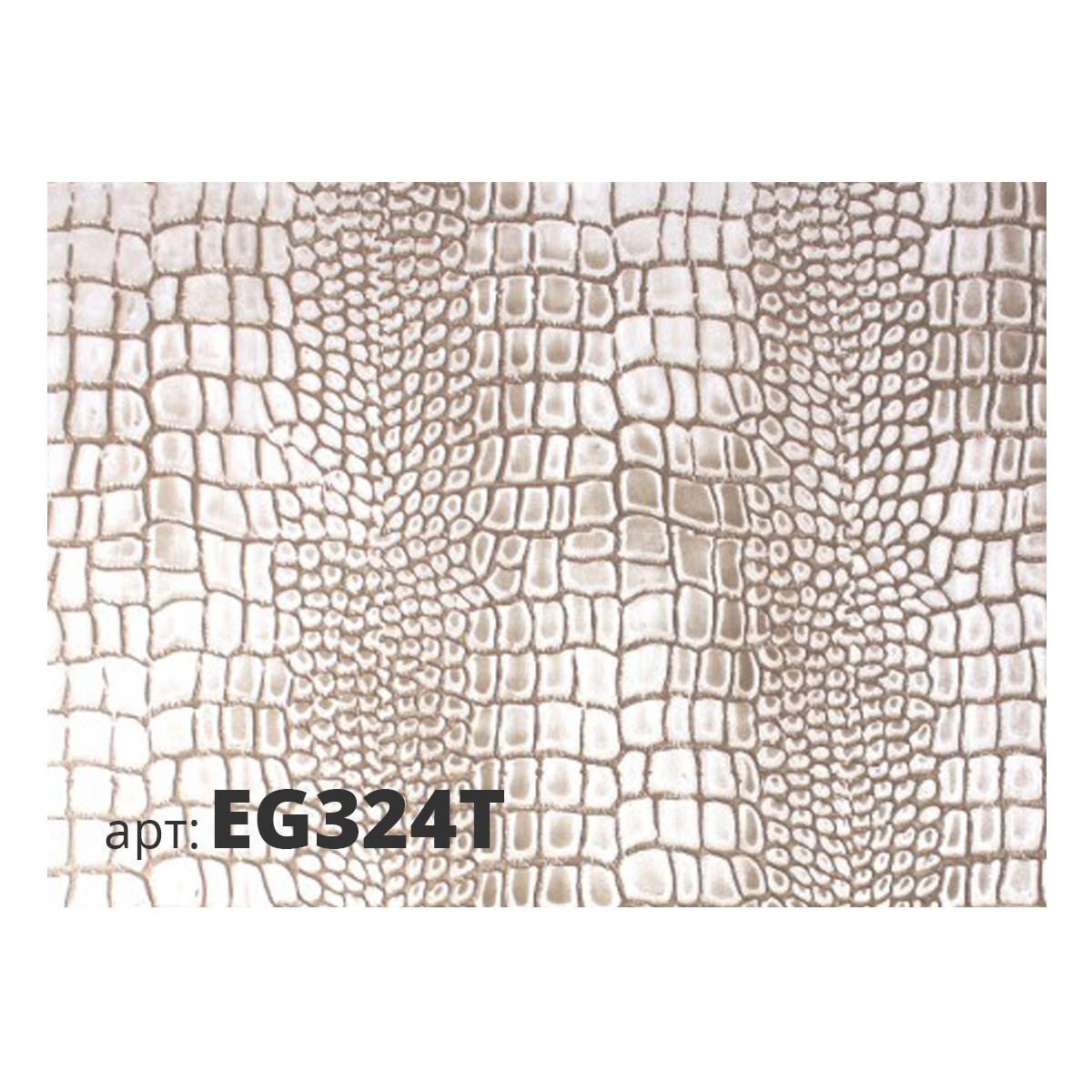 Декоративный жесткий резиновый валик ЗМЕЯ EG324T