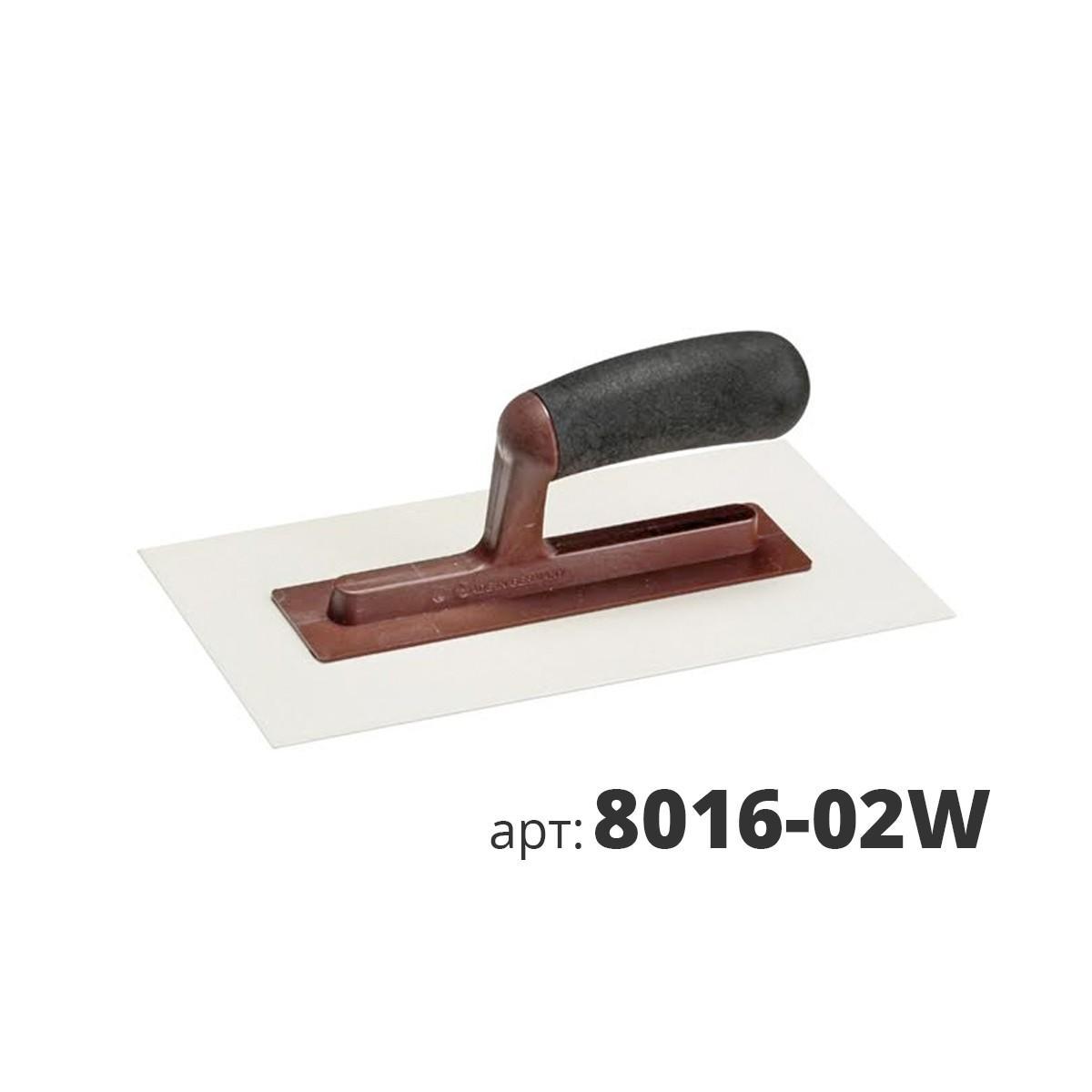 KUHLEN кельма пластиковая прямоугольная 8016-02W