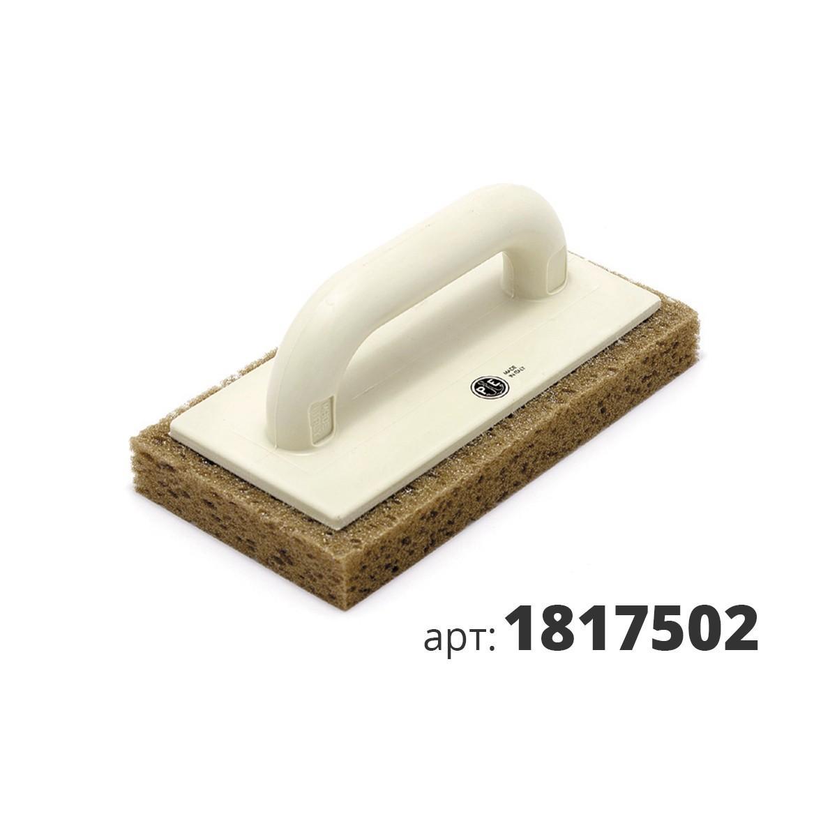 PAVAN кельма пластиковая с подошвой из натуральной губки 1817502