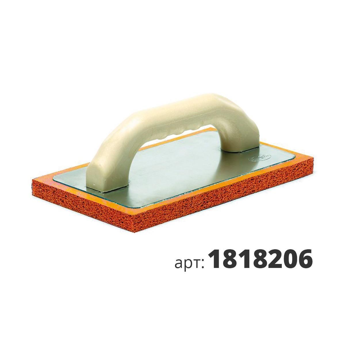 PAVAN кельма пластиковая с подошвой из прорезиненой губки 1818206
