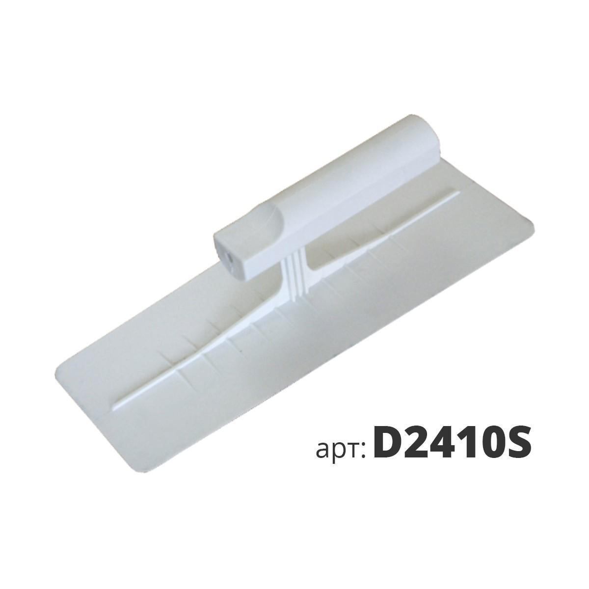 Кельма белая пластиковая прямоугольная Венеция D2410S