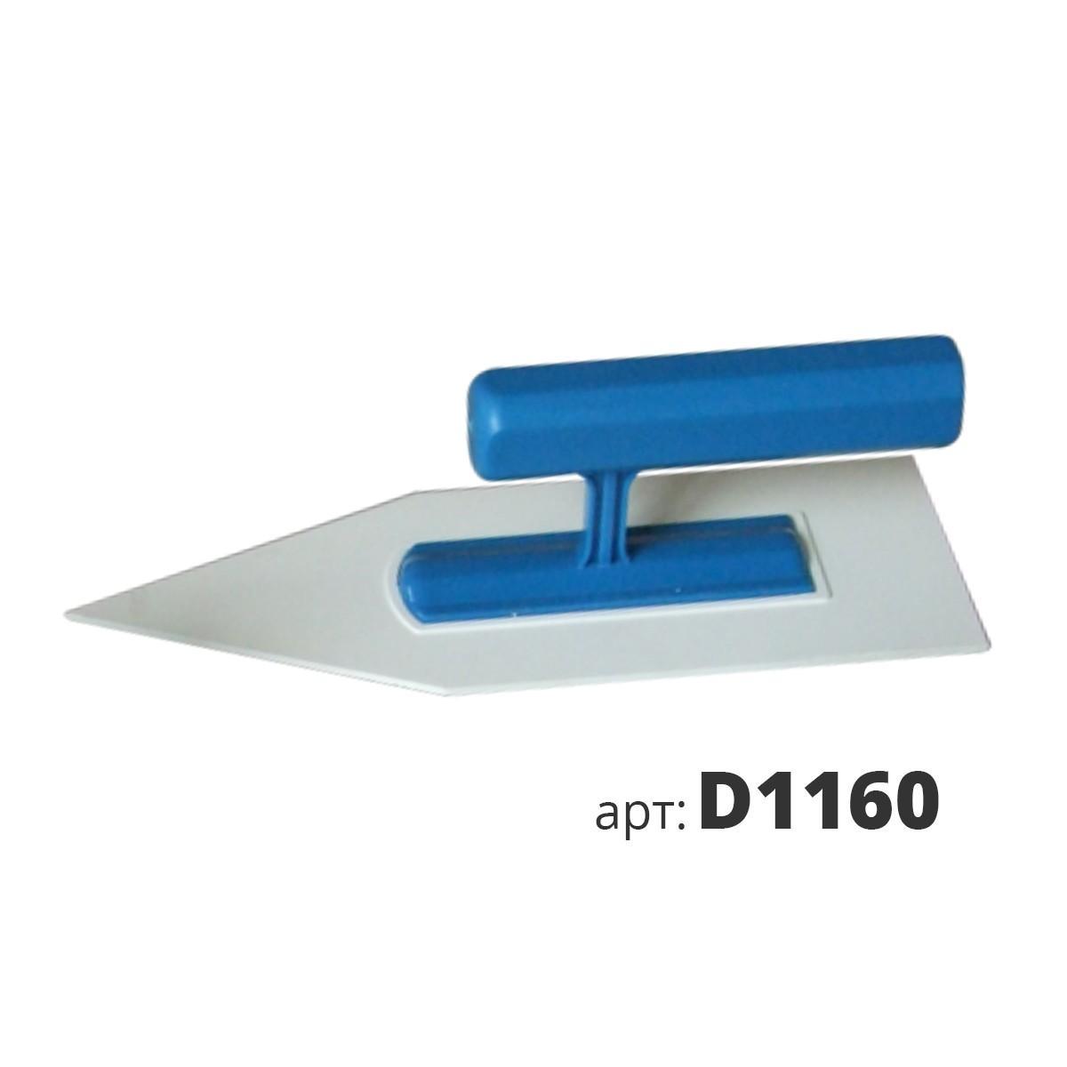 Кельма пластиковая утюжок D1160