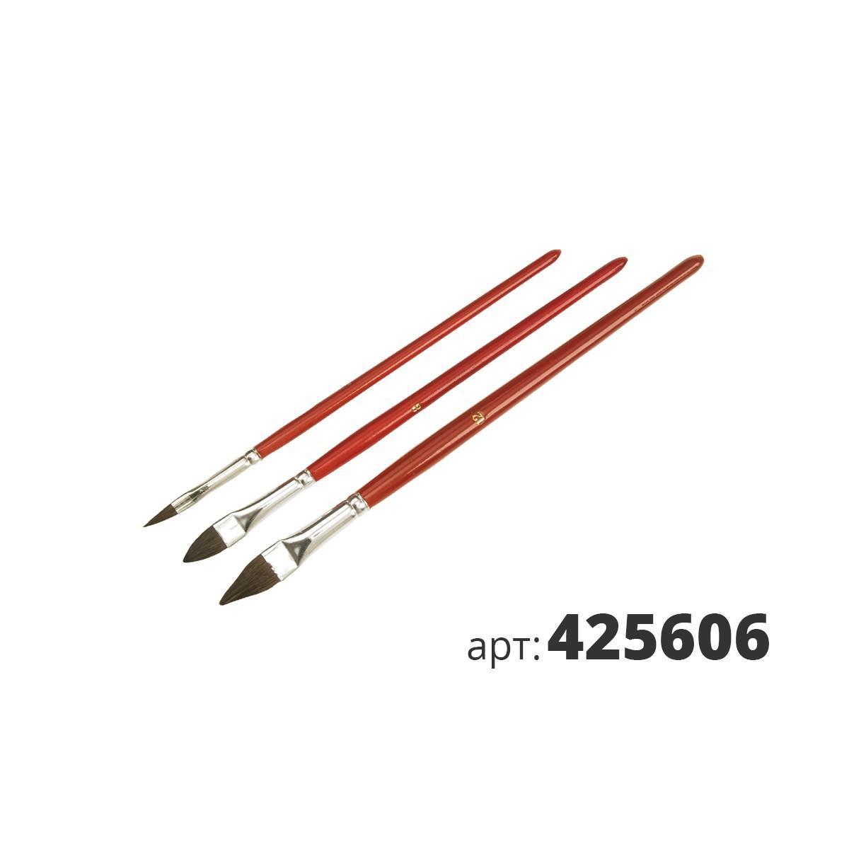 МАКО кисти реставрационные, высококачественная смесь щетины 425606
