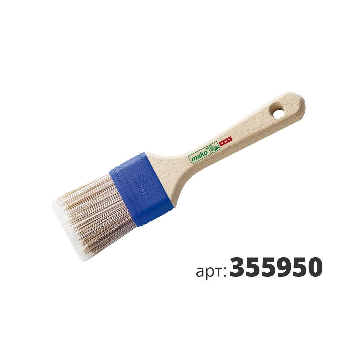 МАКО кисть для масел и воска, cпециальная смесь синтетической щетины 355950