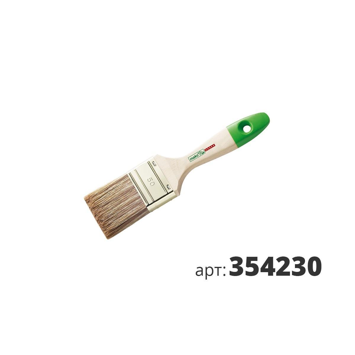 МАКО кисть флейцевая, смесь полиэстер (Hollester) и натуральной щетины 354230