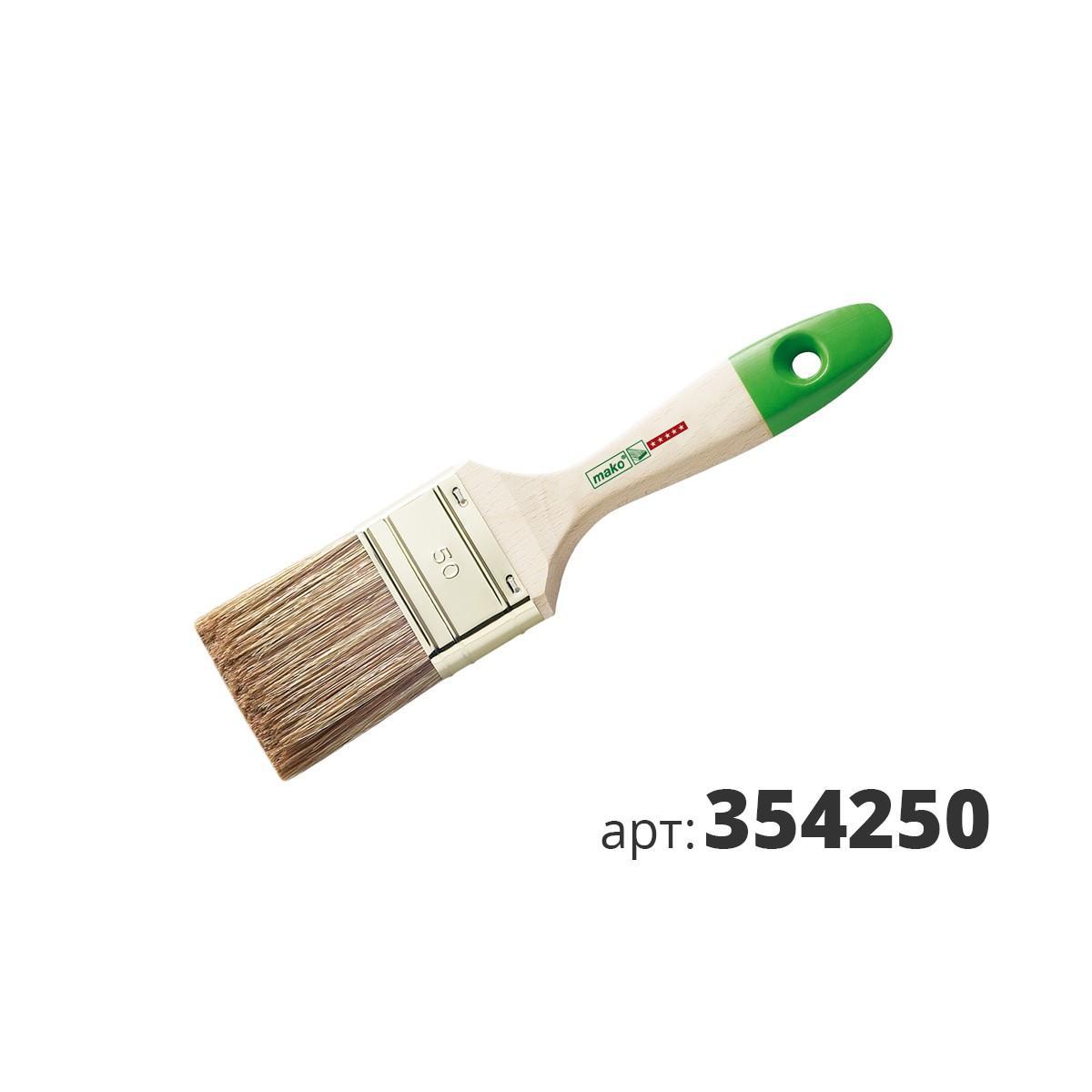 МАКО кисть флейцевая, смесь полиэстер (Hollester) и натуральной щетины 354250