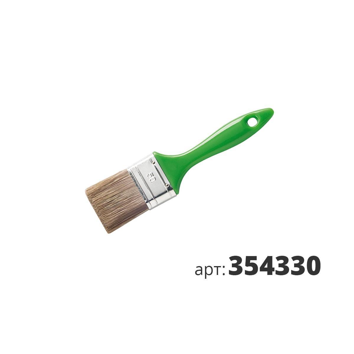 МАКО кисть плоская,смесь полиэстер и натуральной щетины 354330