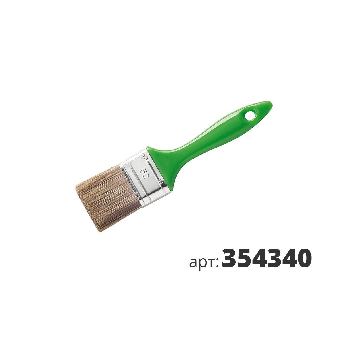 МАКО кисть плоская,смесь полиэстер и натуральной щетины 354340