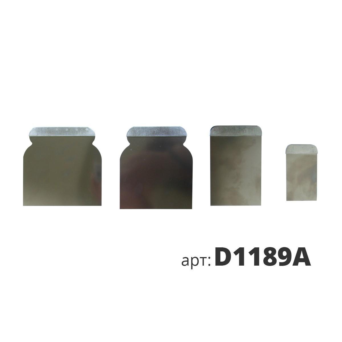 Набор шпателей (4шт) из нержавеющей стали D1189A