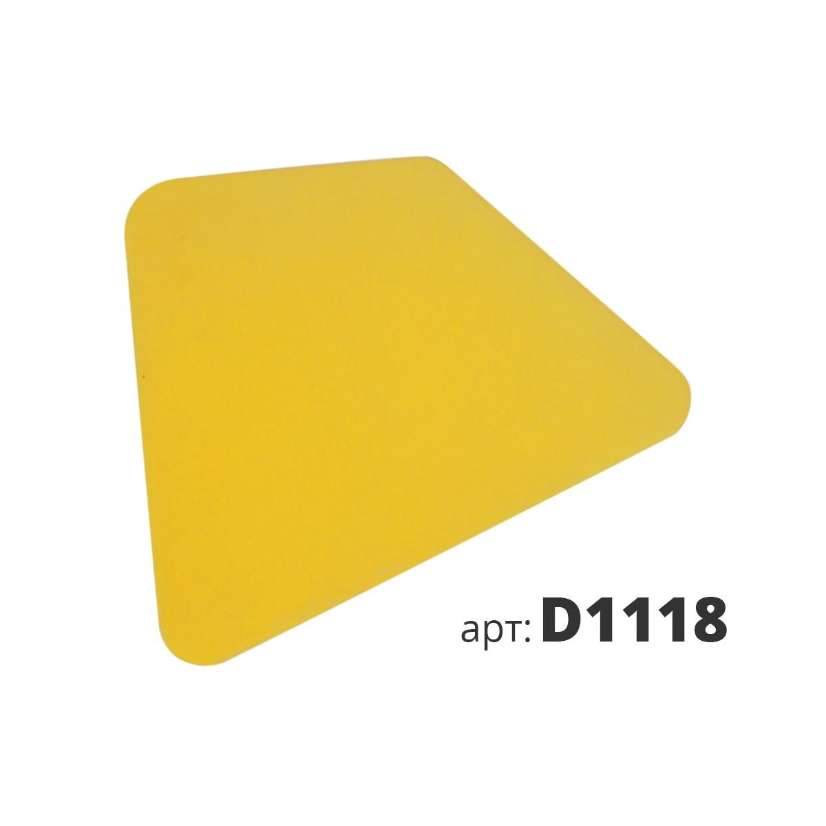 Скребок разносторонний пластиковый D1118