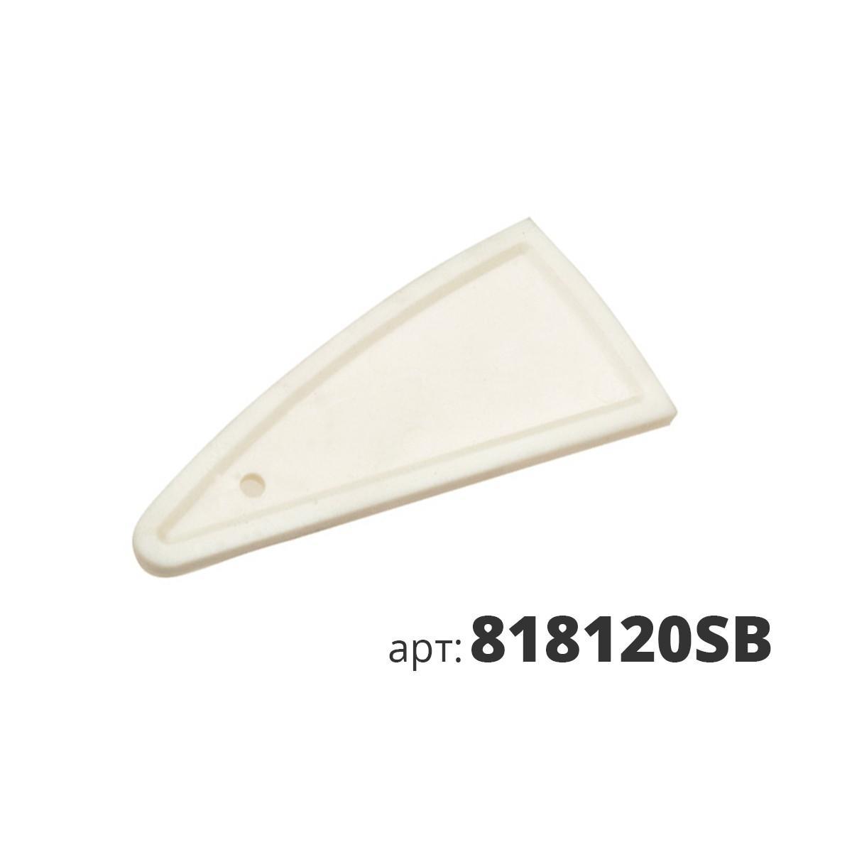 МАКО силиконовый шпатель, гибкий пластик, кислотостойкий 818120SB
