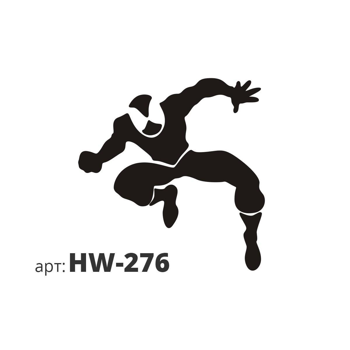 Ттрафарет виниловый ЧЕЛОВЕК-ПАУК HW-276