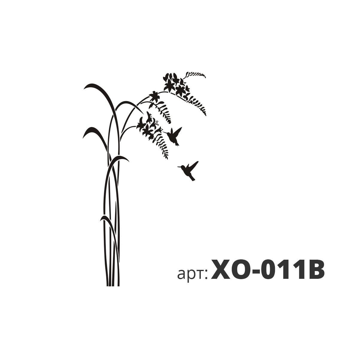 Трафарет виниловый КАМЫШ XO-011B