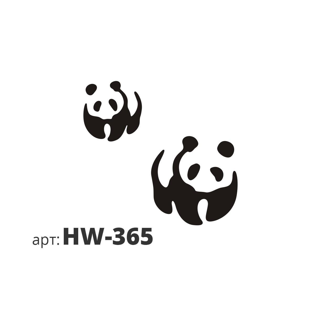 Трафарет виниловый ПАНДА HW-365