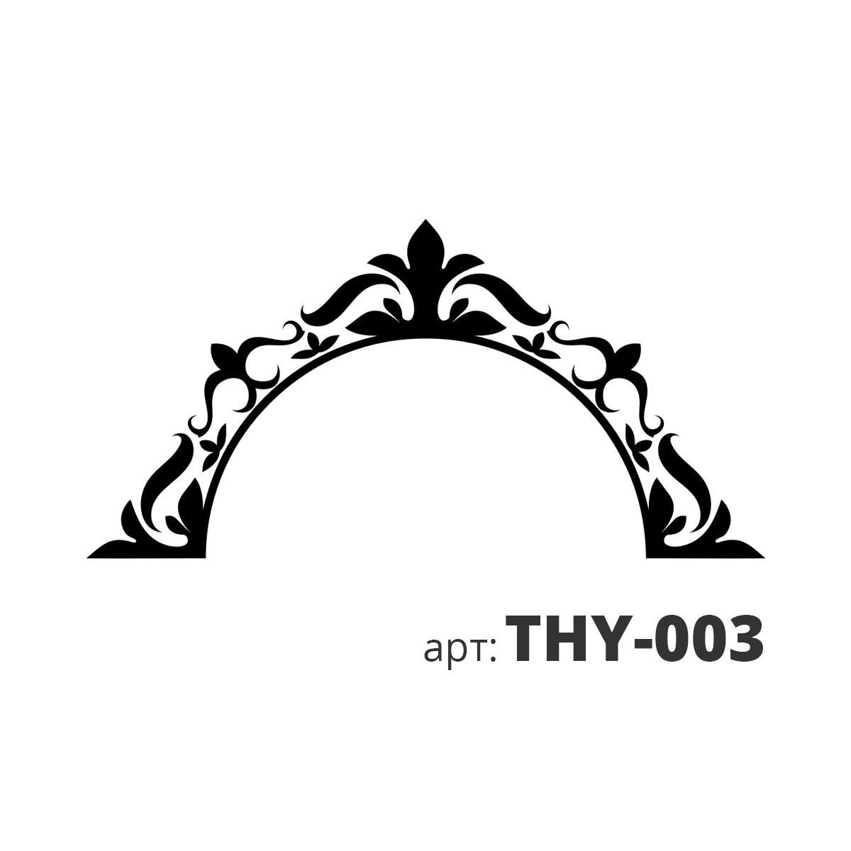 Трафарет виниловый ЗЕРКАЛО-1 THY-015