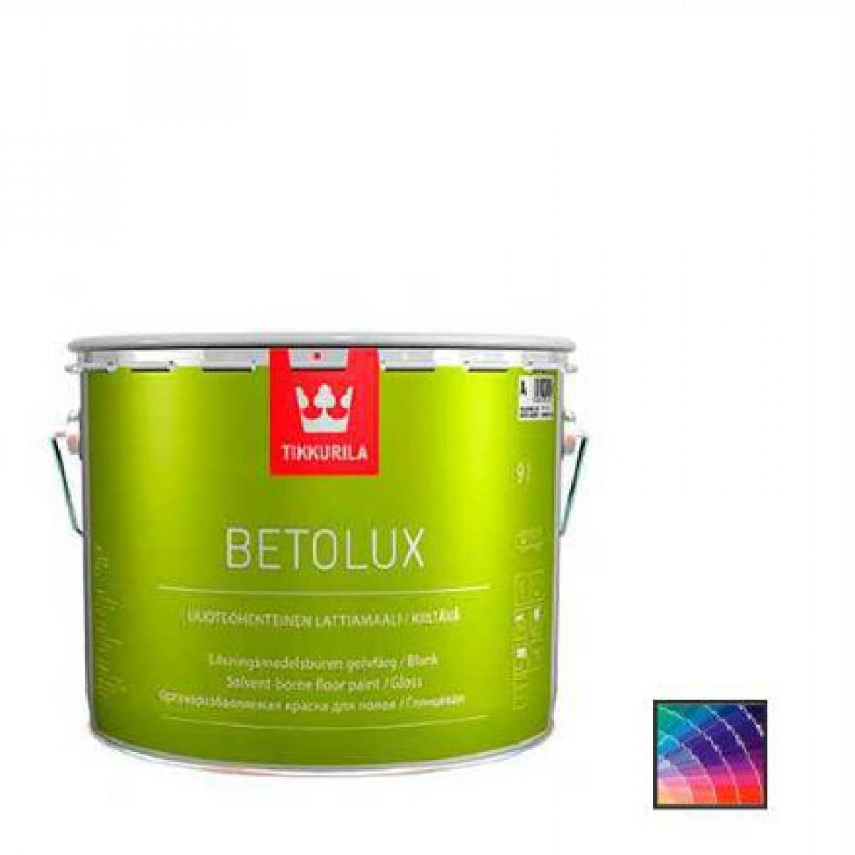 Краска для пола Tikkurila Betolux база А 9 л