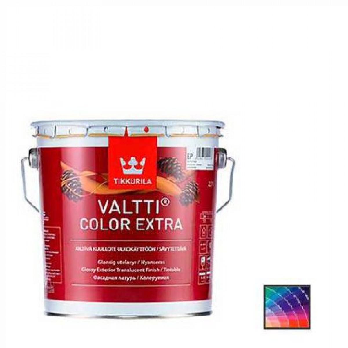 Фасадная лазурь Tikkurila Valtti Color Extra 9 л