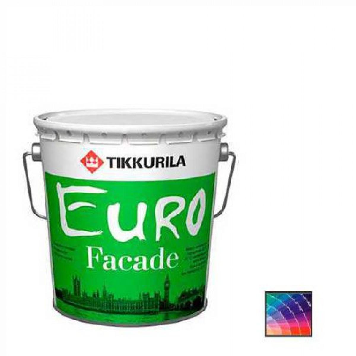 Краска фасадная Tikkurila Euro Facade КА краска фасадная 9 л ЗИМА