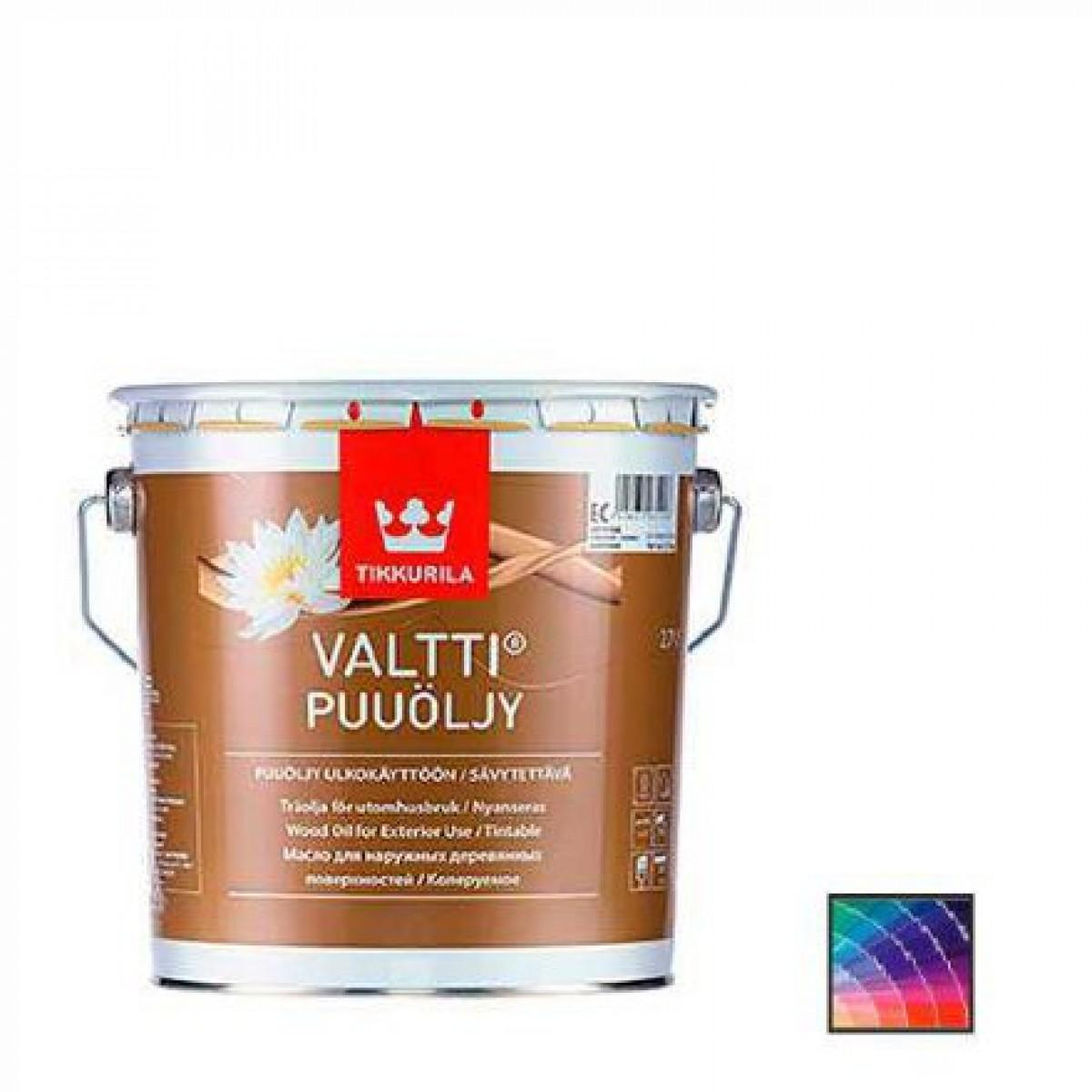Масло для защиты дерева Tikkurila Valtti 2,7 л