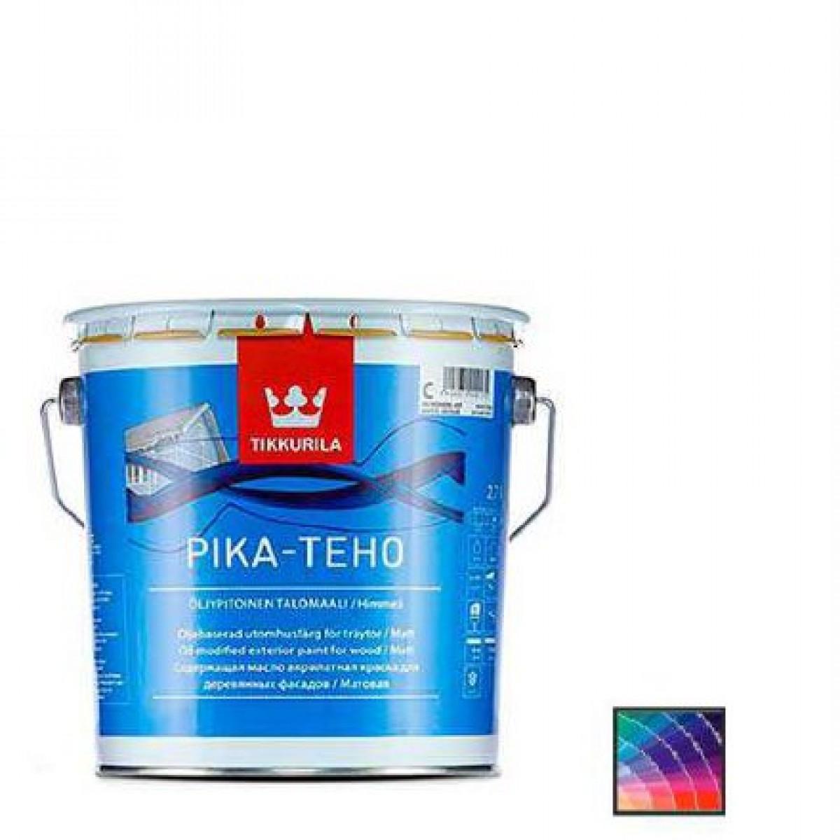 Краска для дерева Tikkurila Pika-Teho база С 2,7 л