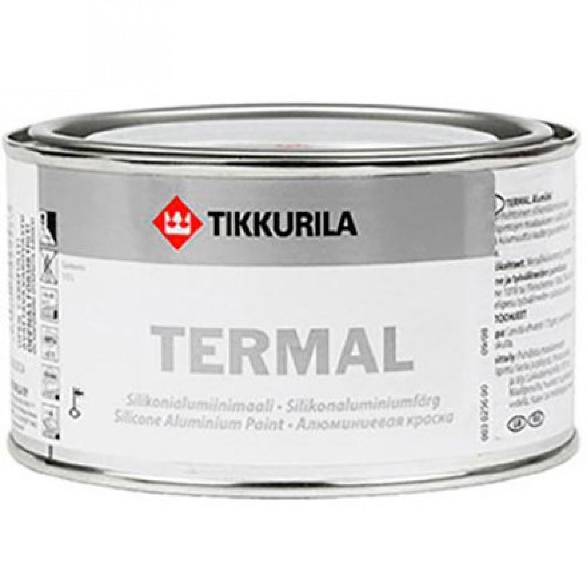 Краска для металла термостойкая Tikkurila Termal 0,33 л