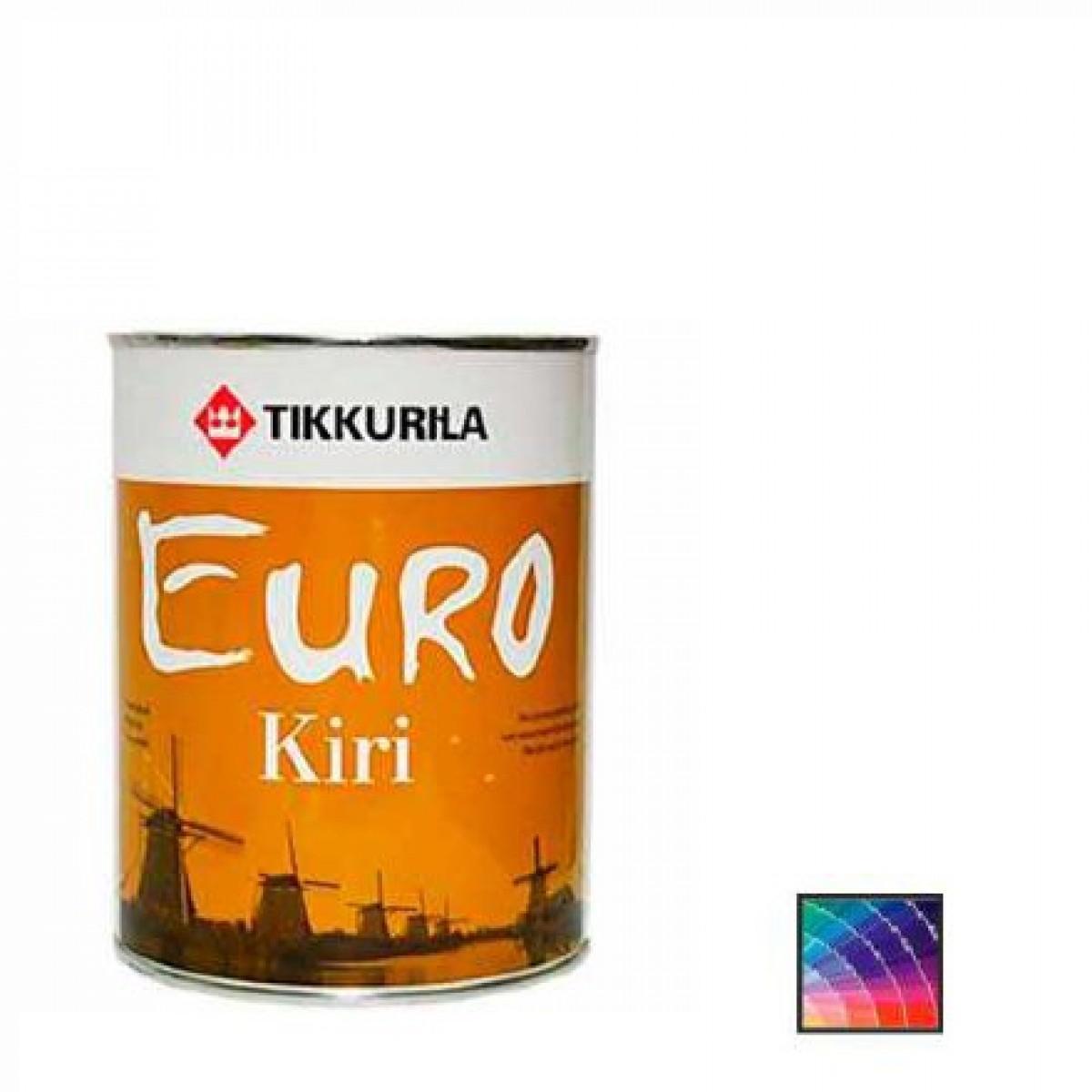 Лак паркетный Tikkurila Euro Kiri 9 л