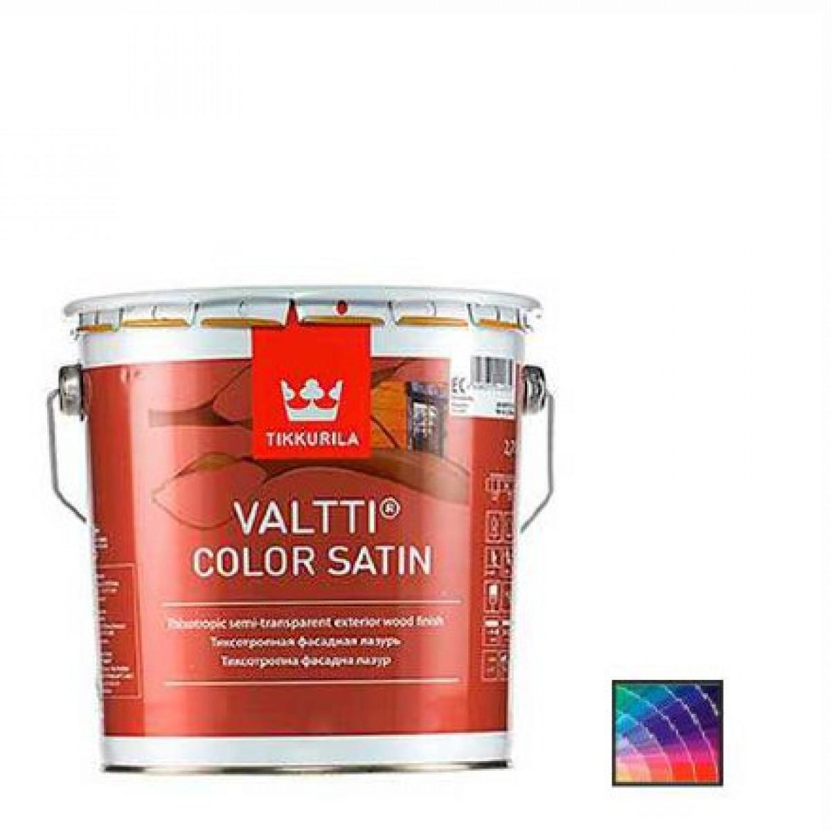 Антисептик Tikkurila Valtti Color Satin 0,9 л